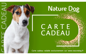 Carte Cadeau Nature Dog